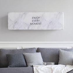 에어컨커버 스판 벽걸이 마블 트라이앵글