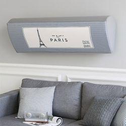 에어컨커버 스판 벽걸이 파리포스터 XL(95cm)