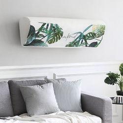에어컨커버 스판 벽걸이 보태니컬 M(89cm)