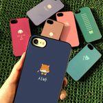 DPARKS 미니불량동물 아이폰8 BLACK CASE