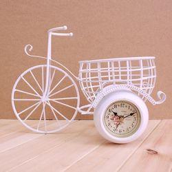 빈티지 자전거 양면 탁상시계 1개