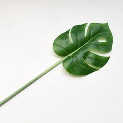몬스테라 잎 조화(소)