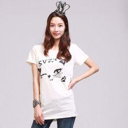 [MAYCATS]Wink T-Shirts