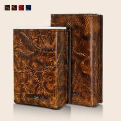 모티모 (루벤A/링클)천연가죽 커버형 담배케이스 선물