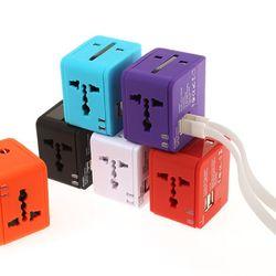 멀티플러그 큐브 USB 듀얼포트 NO.0454