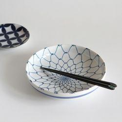 japan 블루 접시