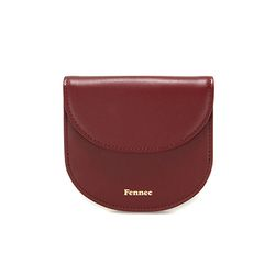 Fennec Halfmoon Wallet 002 Smoke Red