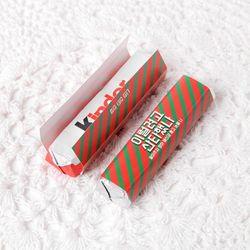 산타했나 초콜릿 데코페이퍼 소 (10개)