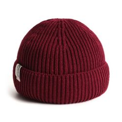 STORY S LABEL BEANIE RED
