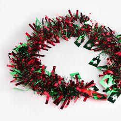 [인디고샵] 크리스마스 레드그린 트리 장식모루