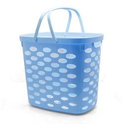 다비 엠비코리빙세탁바구니 블루