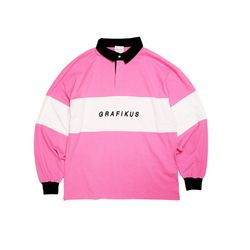 CLASSIC LOGO RUGBY PINK