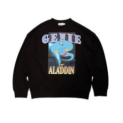 GENIE SWEAT SHIRTS BLACK