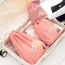여행 캐리어 의류소품 정리백 트래블 스트링 파우치