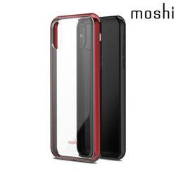 모쉬 아이폰X 비트로스 투명 소프트케이스레드