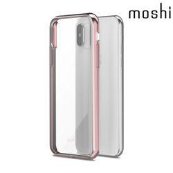 모쉬 아이폰X 비트로스 투명 소프트케이스핑크