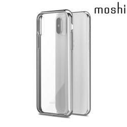 모쉬 아이폰X 비트로스 투명 소프트케이스실버