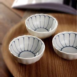 [일본그릇]데이지 볼접시 종지 양념그릇 소스볼 찬기