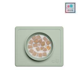 [이지피지] 미니보울 민트  흡착식판이유식기유아식기