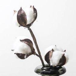 목화꽃 3구 조화