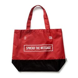 TEAM BLOCK M.BAG - RED