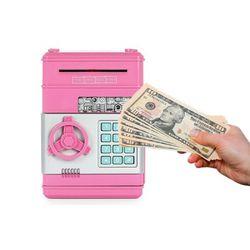 미니 디지털 ATM 지폐 금고 저금통