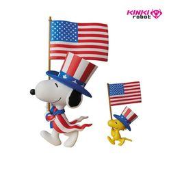 UDF SERIES5 USA SNOOPY AND WOOD STOCK(1710004)