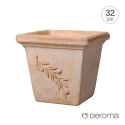 데로마 토분 인테리어화분 콰드로 올리브(32cm)