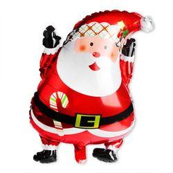 크리스마스 은박풍선 산타클로스 대