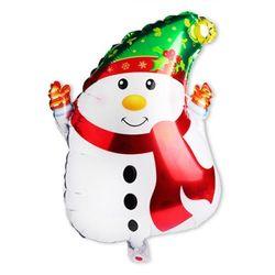 크리스마스 은박풍선 스노우맨 대