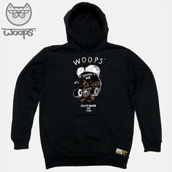 [DOLDOL] WOOPS HOODY 02 웁스 기모 후드티-XXL