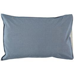 camomile london - Mini Check 베개 커버 Blue (M)