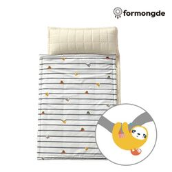 포몽드 어린이집 낮잠이불 로가닉광목 나무늘보그레이