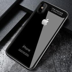 Mcdodo 듀얼 클리어 범퍼 아이폰XS X 케이스