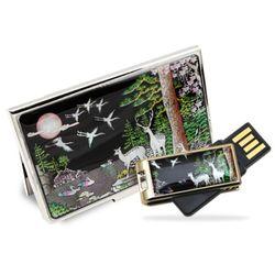 아리랑 로트자개 USB + 명함케이스 SET  8GB