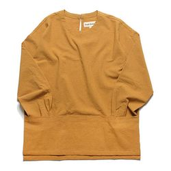BUCKLE PULLOVER SHIRT(YELLOW)
