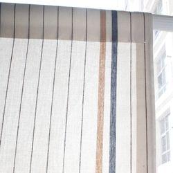 네추럴 라인 북유럽 코튼 가리개커튼 105x123