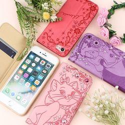디즈니 아이폰8 7 트윙클 컬러 다이어리 케이스 00554