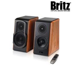 브리츠 2채널 블루투스 북쉘프 스피커 BR-2000BT Semi