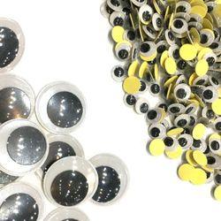 스티커 접착 원형 눈알 (전사이즈모음)