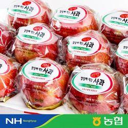 [농협]경북 세척 안심사과(3.5kg 15-17과)x2박스