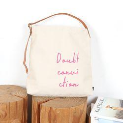 [BRNA] 패브릭 프린트 백(Sagging Bag) 핑크