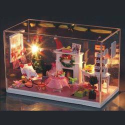 [adico]DIY 미니이처 하우스 - 스위트 크리스마스