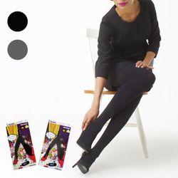 [1&1] Basic Stocking - Black Gray