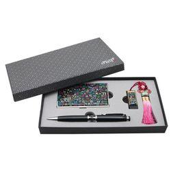 아리랑 로트2 USB + 자개볼펜 + 명함케이스 SET 8GB