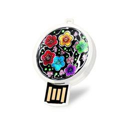 아리랑 소마플러스 화이트 자개 USB  8GB