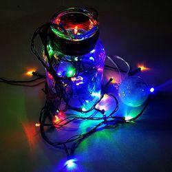 녹색선 LED50구 칼라 전구