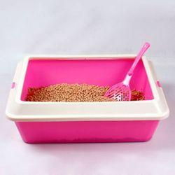 산시아 토비 평판형 화장실[핑크]