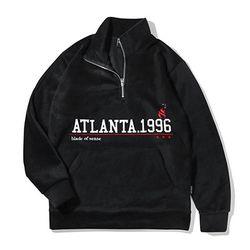 애틀란타 1996 후리스집업-블랙