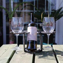 와인바 인테리어로 좋은 유럽식 와인홀더+와인잔걸이